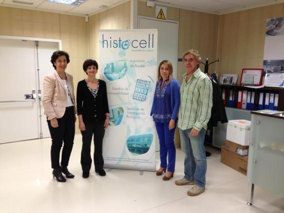Visita Histocell. Con la Dra. Ana Alonso